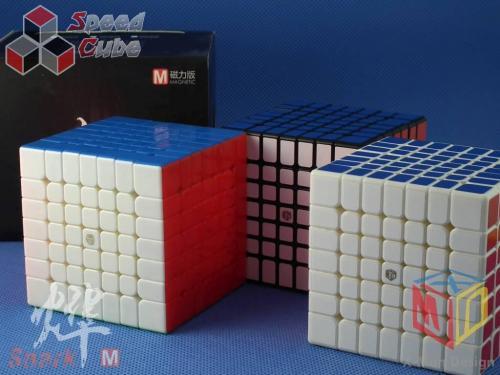 MoFangGe X-Man Design 7x7x7 Spark M Czarna