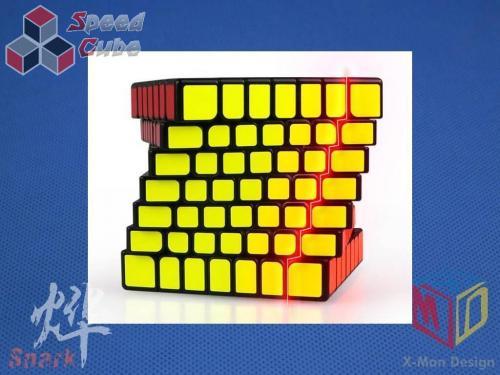 MoFangGe X-Man Design 7x7x7 Spark Biała