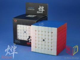 MoFangGe X-Man Design 7x7x7 Spark Kolorowa
