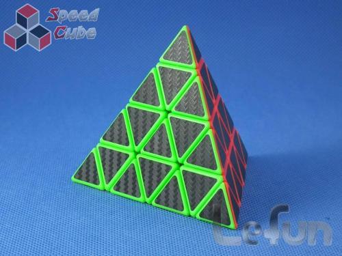 LeFun KiloPyraminx Kolorowa Carbon Stick.