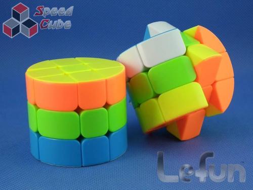 Cube Style Cylinder 3x3x3 Stickerless Standard