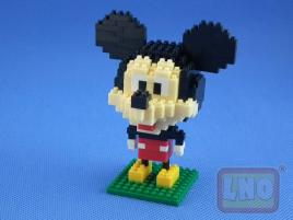 Puzzle 3D Nano Blocks Mickey Mouse 011