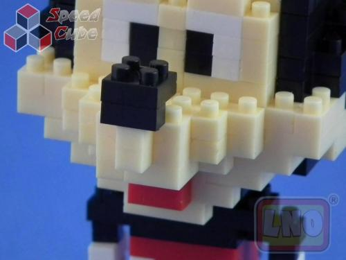 Puzzle 3D Nano Blocks Mickey Mouse 011