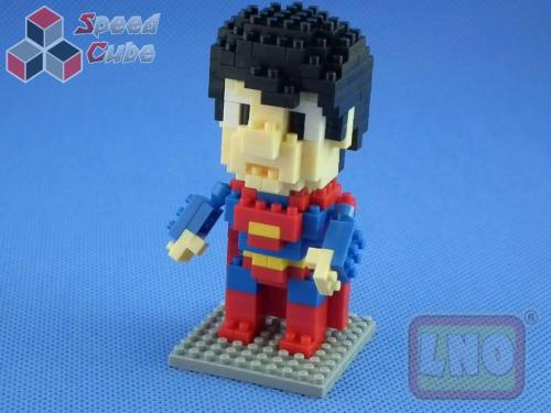 Puzzle 3D Nano Blocks SuperMan Hero 022