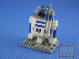 Puzzle 3D Nano Blocks Star Wars Robot R2-D2 049