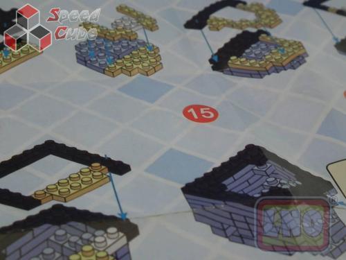 Puzzle 3D Nano Blocks Star Wars Robot R2-D2 049