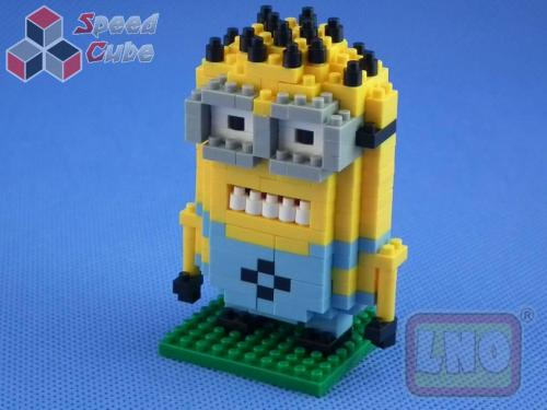 Puzzle 3D Nano Blocks Jerry Minions 001