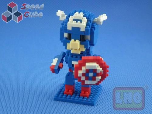 Puzzle 3D Nano Blocks Jerry Minions 001