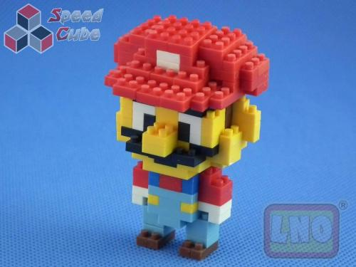 Puzzle 3D Nano Blocks Super Mario 006