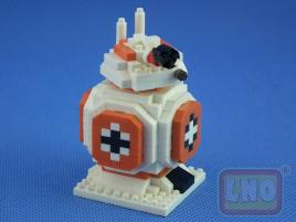 Puzzle 3D Nano Blocks Star Wars BB-8 119
