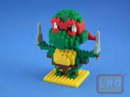 Puzzle 3D Nano Blocks Ninja Turtles 078