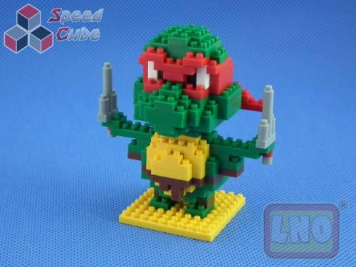 Puzzle 3D Nano Blocks Ninja Turtles 078