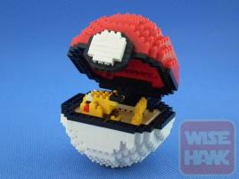 Puzzle 3D Nano Blocks Pokemon Ball Series 2532