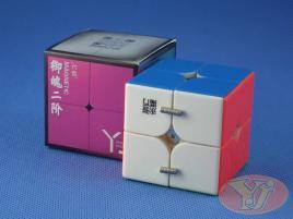 YongJun YuPo v2 2x2x2 Magnetyczna Kolorowa
