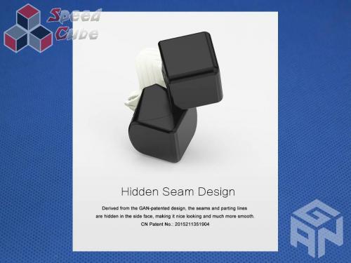 GAN356 Air SM 3x3x3 Magnetic 2019 Black