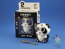 ZhiSheng YuXin 2x2x2 Mini Panda Brelok
