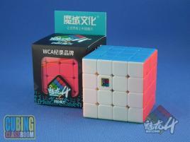 MoYu MoFang JiaoShi 4x4x4 MeiLong Kolorowa