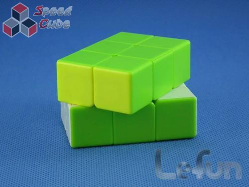 LeFun 2x2x3 Caterpillar Green - White