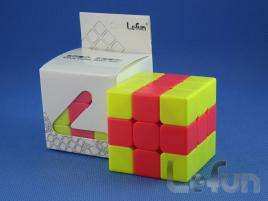 LeFun 3x3x3 Chips Cube Yellow - Red