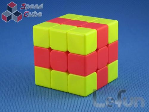 LeFun 3x3x3 Chips Magic Cube Yellow - Red