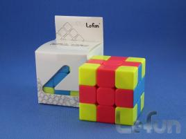 LeFun 3x3x3 Cross Cube Red - Blue