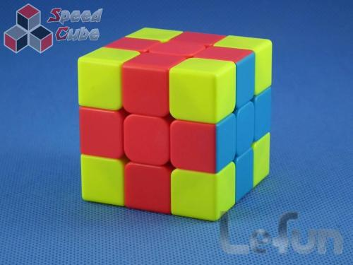 LeFun 3x3x3 Cross Cube Red - Blue