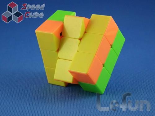 LeFun 3x3x2 Domino Kolorowa
