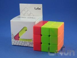 LeFun 3x3x3 Red Cap Cube Red - Blue