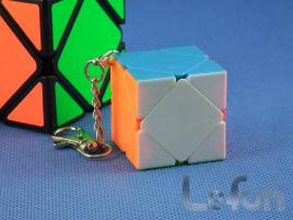 LeFun Mini Skewb Kolorowa Brelok