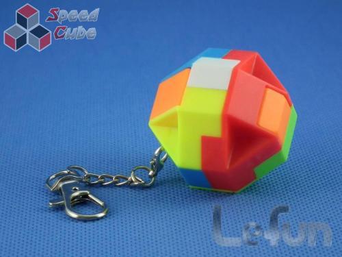 LeFun Hexahedron Kolorowa Brelok
