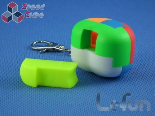 LeFun Love Cube Kolorowa Brelok