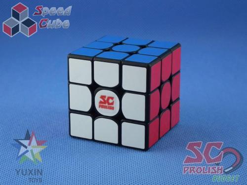 PROLISH YuXin 3x3x3 Little Magnetyczna Czarna