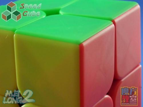 MoYu MoFang JiaoShi 2x2x2 MeiLong Kolorowa