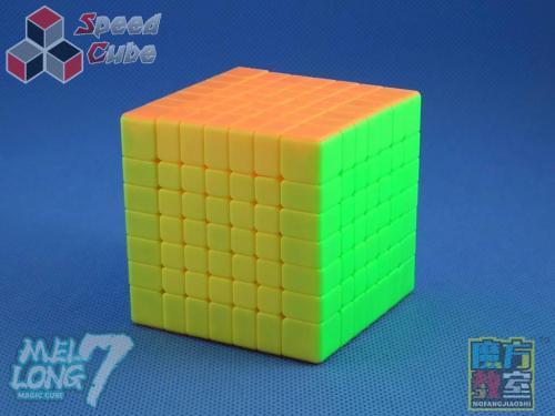 MoYu MoFang JiaoShi 7x7x7 MeiLong Kolorowa