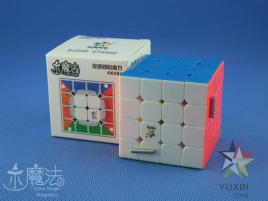 YuXin Little Magic 4x4x4 Magnetic Kolorowa