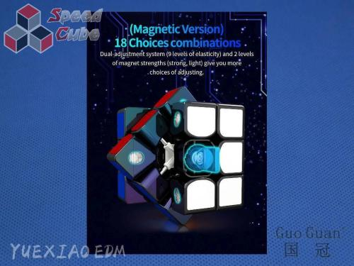 MoYu GuoGuan YueXiao EDM 3x3x3 Czarna