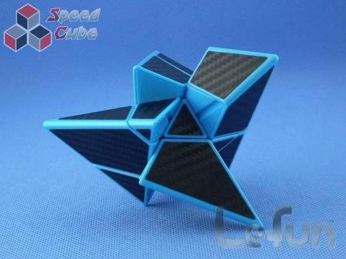LeFun Ghost Pyraminx Carbon Blue Base