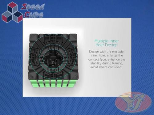 YongJun YuFu v2 7x7x7 Magnetyczna Kolorowa