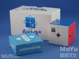 MoYu WeiPo WR Magnetic 2x2x2 Kolorowa