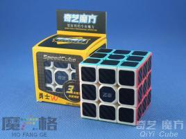 QiYi Carbon Fiber 3x3x3 Kolorowa