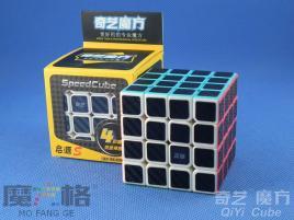 QiYi Carbon Fiber 4x4x4 Kolorowa