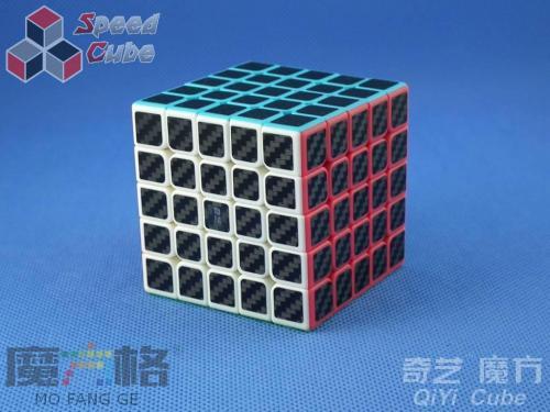 QiYi Carbon Fiber 5x5x5 Kolorowa