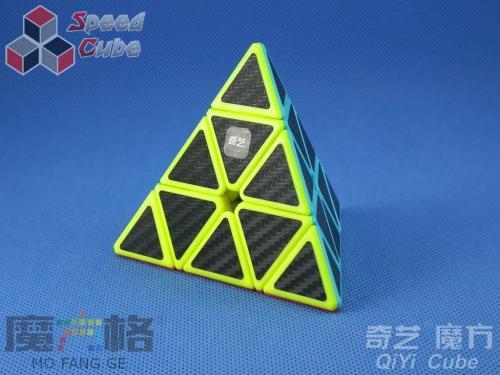 QiYi Carbon Fiber Pyraminx Kolorowa