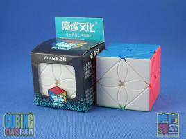 MoFang JiaoShi MeiLong Maple Leave Skewb Stickerless