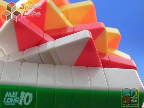 MoYu MoFang JiaoShi 9x9x9 MeiLong Kolorowa