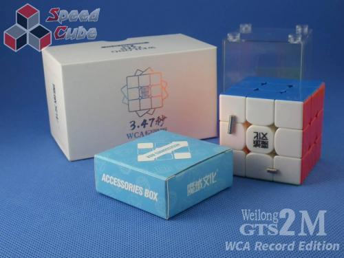 MoYu WeiLong GTS2 M 3x3x3 WR Edition Stickerless