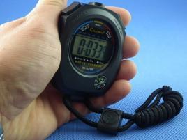 Wielofunkcyjny cyfrowy stoper z kompasem