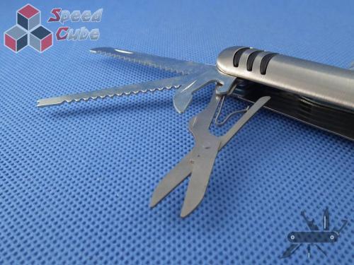 Scyzoryk wielofunkcyjny, metalowy, elegancki- Gadżet 9 cm