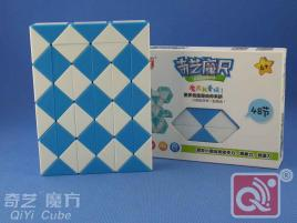 QiYi Magic Snake 48 Blue