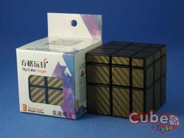 Cube Style Mirror 3x3x3 Black Body - Carbon Gold